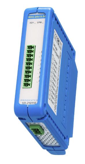 Procentec ComBricks 8 Channel Digital Out Module, 101-210110