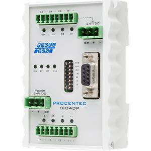 Procentec SIO4DP - PROFIBUS DP Training Device, 101-00221A
