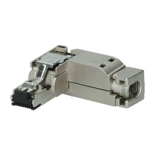 Helmholz PROFINET connector RJ45 90° EasyConnect® 10/100 Mbps - 10 Pack, 700-901-1BB20-10PK