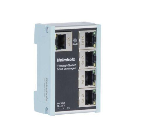 Helmholz Ethernet-Switch 5-port, Unmanaged, 700-840-5ES01