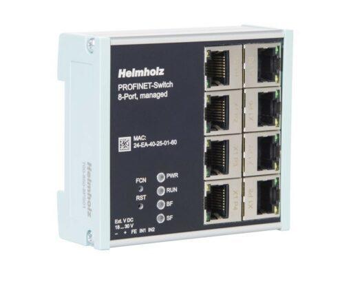 Helmholz PROFINET Switch 8-Port, Managed, 700-850-8PS01