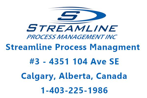 Streamline Process Management Logo and Address