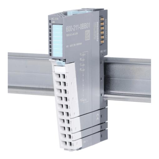 Helmholz DI 2x AC 230 V, per channel N, Type 1, 600-211-0BB01