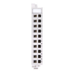 Helmholz 10-terminal front connector , 600-910-9AJ01
