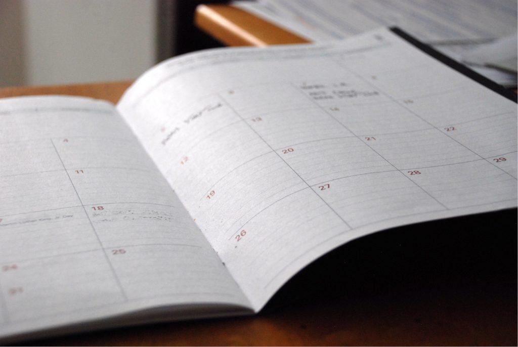 Paper Calendar image