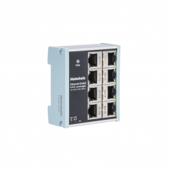Helmholz Industrial Ethernet Switch 8-Port Unmanaged 10/100/1000Mbit