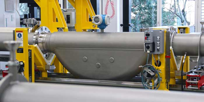 Endress +Hauser Flow Calibration rig hydrocarbon oil Calibration Promass F