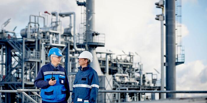 Endress + Hauser Refinery Tank Farm